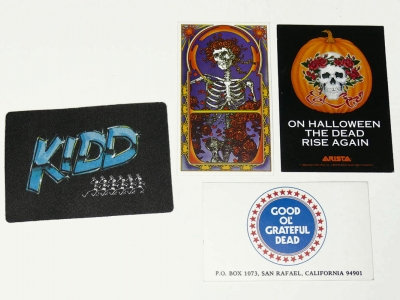 Grateful Dead Backstage Passes